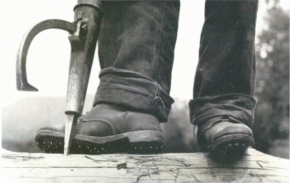 The caulk boot whith which one jack gives another the leather [University of Maine, Fogler Library]