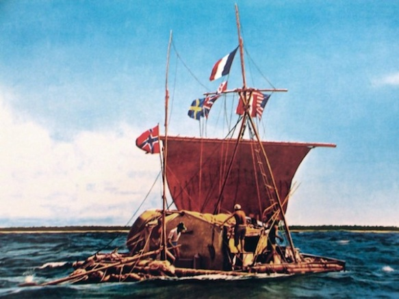 Going with the flow, Heyerdahl and Kon-Tiki