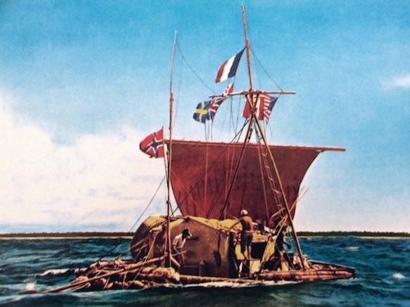 Going with the flow, Heyerdahl and Kon-Tiki