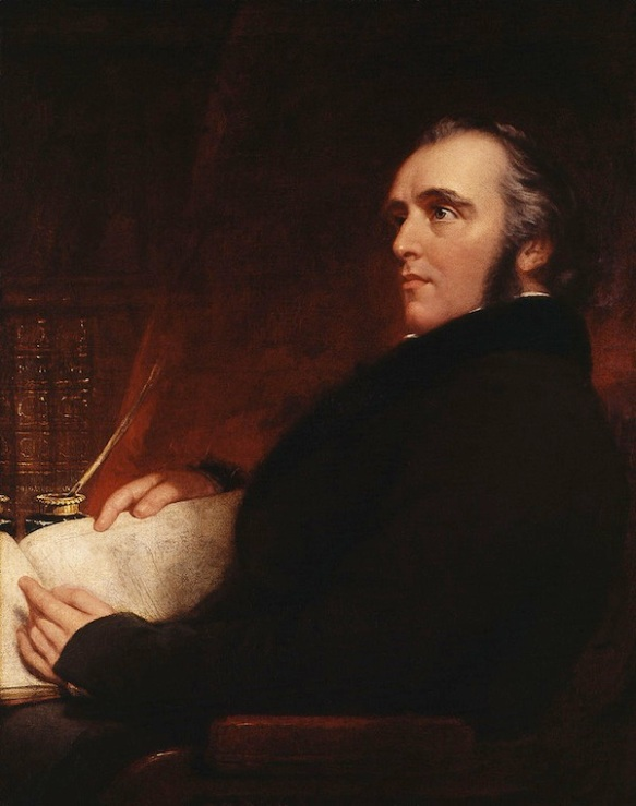 Thomas Babington Macaulay, National Portrait Gallery, London [John Partridge d.1872]